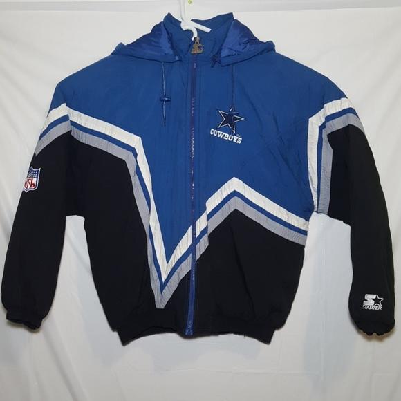 wholesale dealer 5e3d6 c841f Starter Jacket Dallas Cowboys Size XL Vintage
